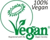 Vegan Society Registered - 100% Vegan